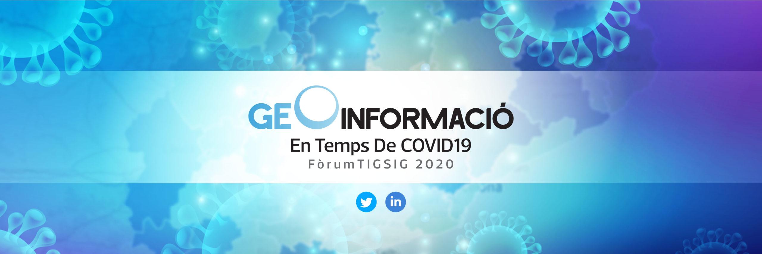 Geoinformació en temps de covid19